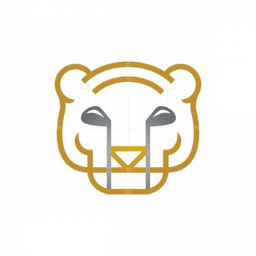 Golf Tiger Logo