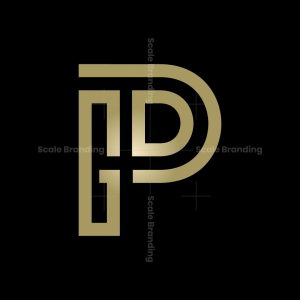 Gp Monogram Logo Gp Pg Logo