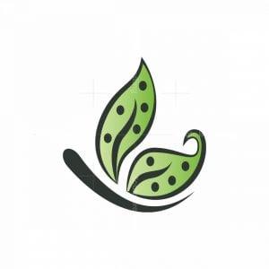 Green Butterfly Logo