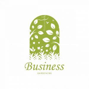 Green Garden Outdoor Pictorial Logo
