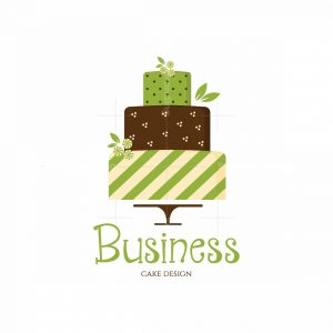 Green Peppermint Cake Pictorial Logo