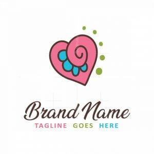 Heart Design Logo
