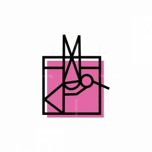 Abstract Hummingbird Icon Logo