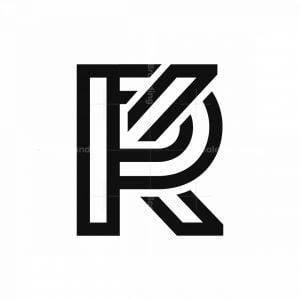 Kp Monogram Logo Kp Pk Logo