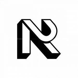 Letter Ru Ur Logo