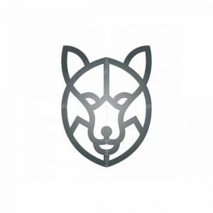 Silver Wolf Logo Wolf Head Logo