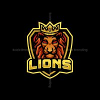Lion King Mascot Logo