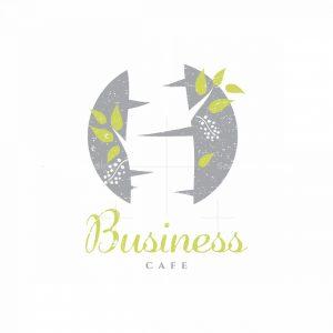 Lonely Birch Symbol Logo