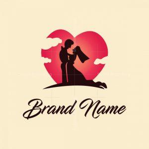 Love Couple Logo