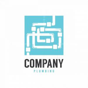 Maze Expert Plumbing Symbol Logo
