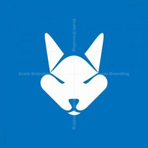 Cool Wolf Ord Dog Logo