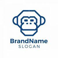 Geometric Monkey Logo