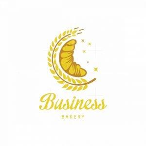 Moon Bakery Pictorial Logo