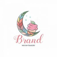 Moon Bakery Pictorial Logo