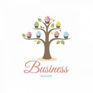 Natural Desserts Symbol Logo