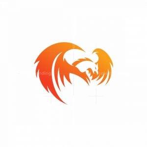 Phoenix Bird Icon Logo