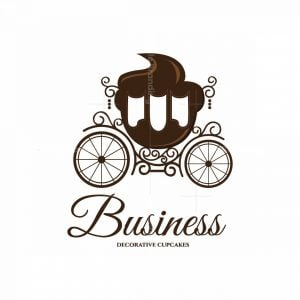 Royal Cupcakes Pictorial Logo