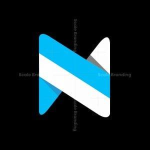 Cool Minimal N Logo