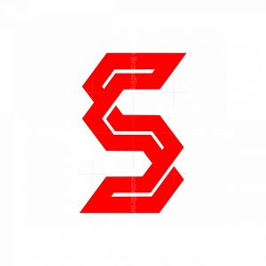 Modern Knot Style S Logo