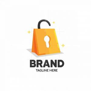 Shopping Lock Logo