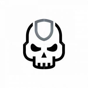 Shield Skull Logo