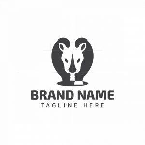 Simple Rhino Logo