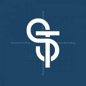 St Monogram Logo