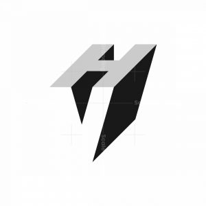 Letter Vh Logo