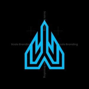 W Building Tower Logo