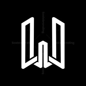 Modern W Logo
