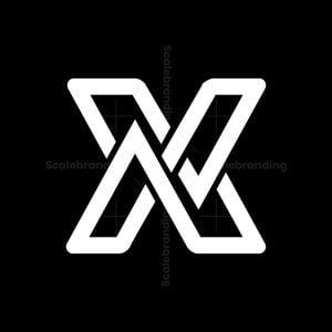Modern Unique X Logo