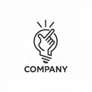 Snap Lightbulb Logo