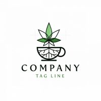 Cannabis Drink Logo