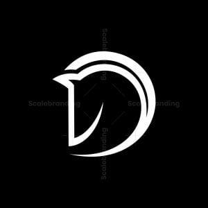 Horse Letter D Logo