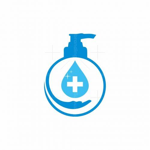 Hand Sanitizer Logo