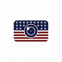 American Flag Photography Logo