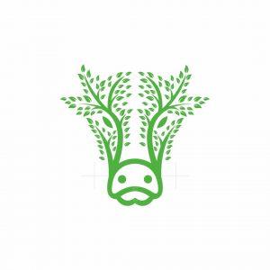 Nature Cow Logo