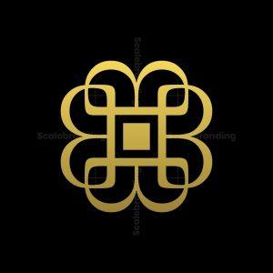 B Letter Monogram Logo