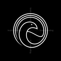 Outline Bird Logo