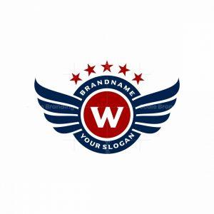 Clasic Winged Logo