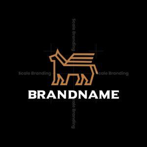 Heraldry Dog Logo