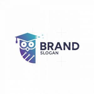 Owl Tech Learning Logo