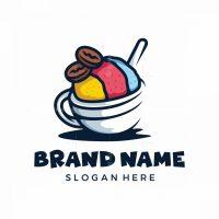 Snow Cup Coffee Logo