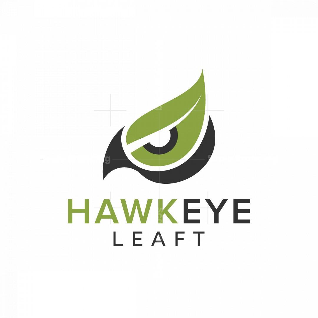Green Hawk Eye Logo