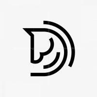 D Horse Logo