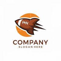 Rocket Football Logo