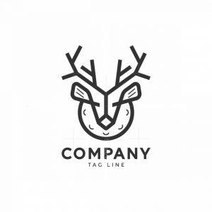 Golf Deer Logo