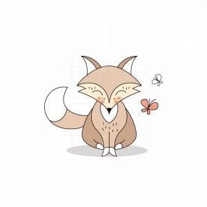 Cute Fox Logo