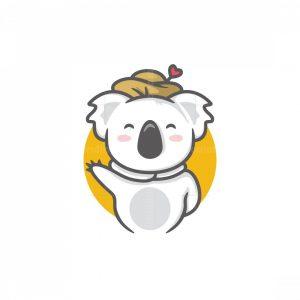 Cute Koala Logo