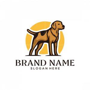 Standing Dog Logo